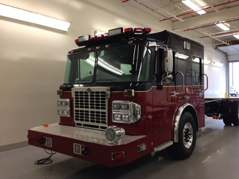 "New Heavy Rescue Chassis ""Rescue 31"""